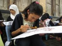 kelas belajar membatik kampung batik lamongan